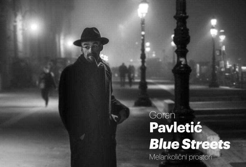 """Blue streets/Melancholic Spaces"""
