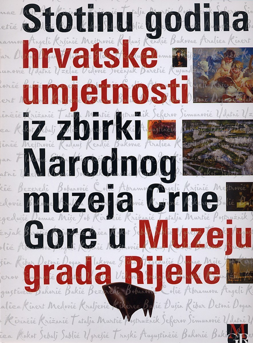 A Hundred Years of Croatian Art from Collections of the National Museum of Montenegro