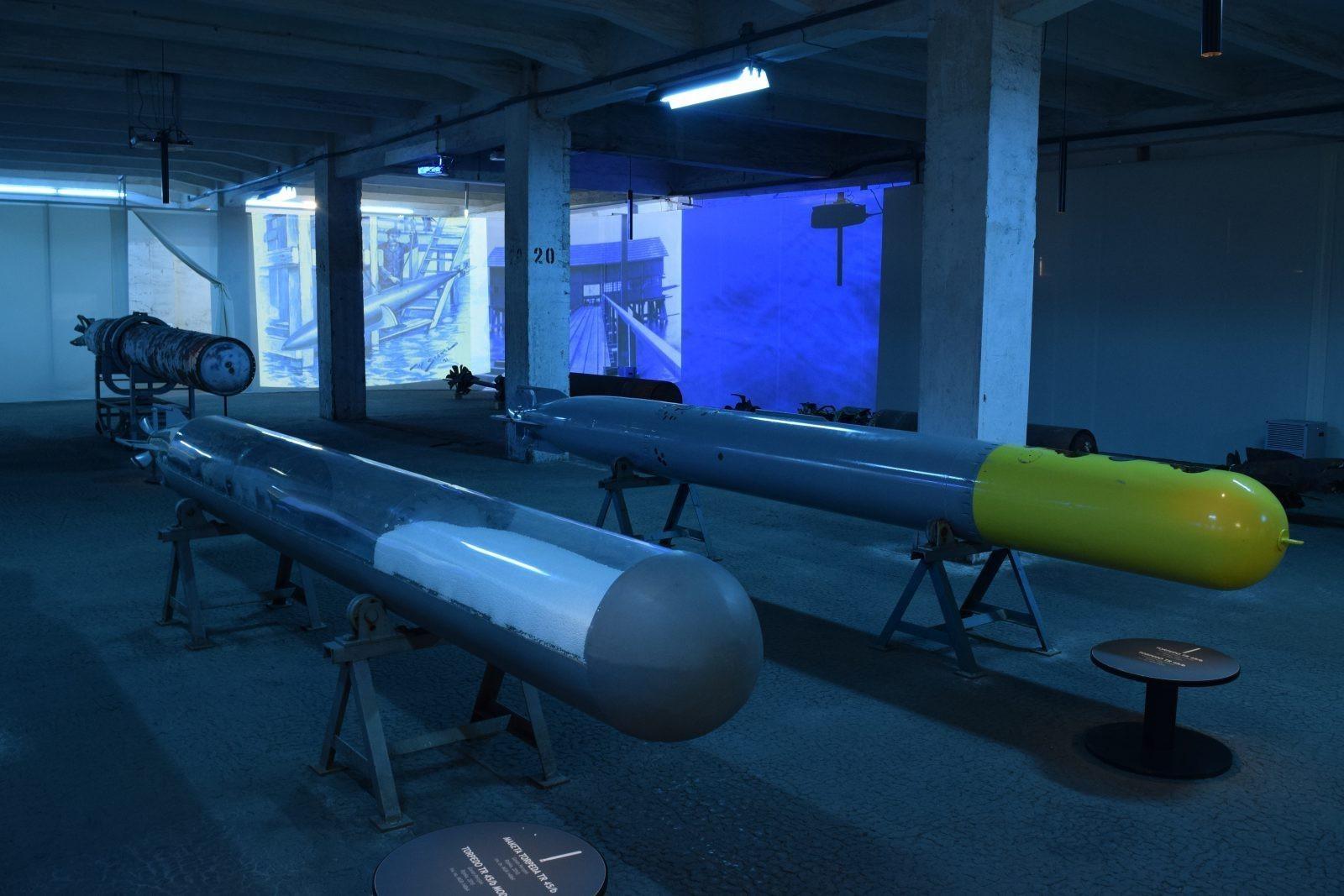 Izložba torpeda otvorena u povodu dolaska kruzera Berlin