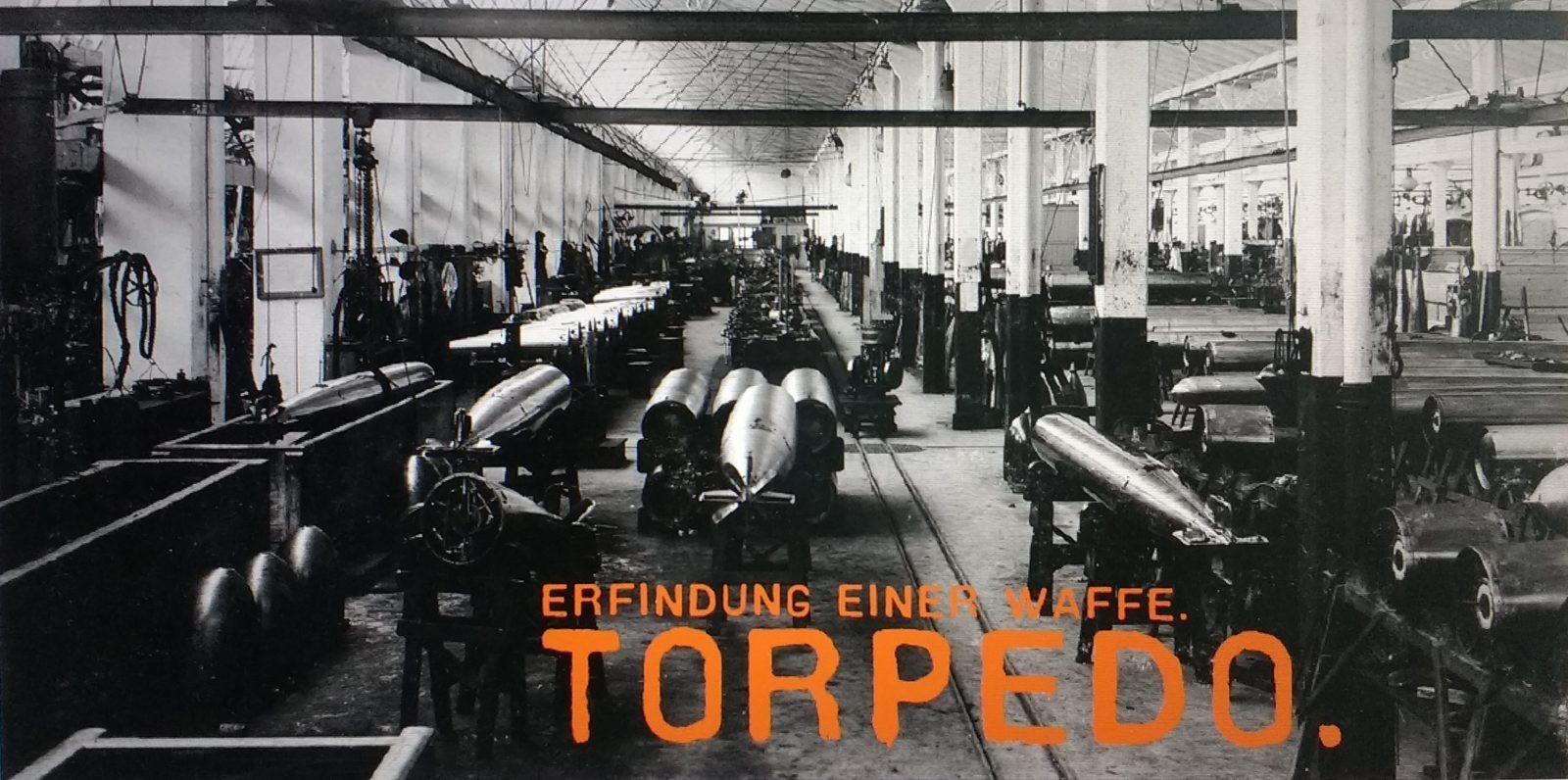 Torpedo. Erfindung einer Waffe