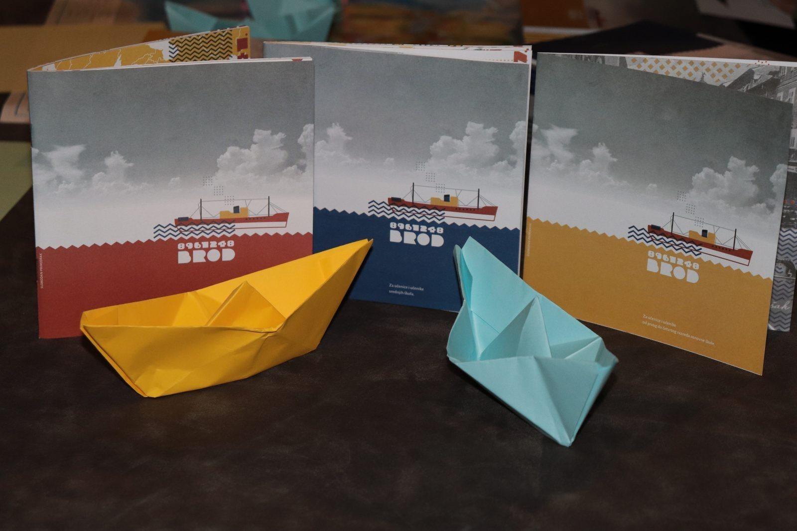 Radionica za djecu o riječkoj povijesti, industrijskoj baštini i brodu Galeb