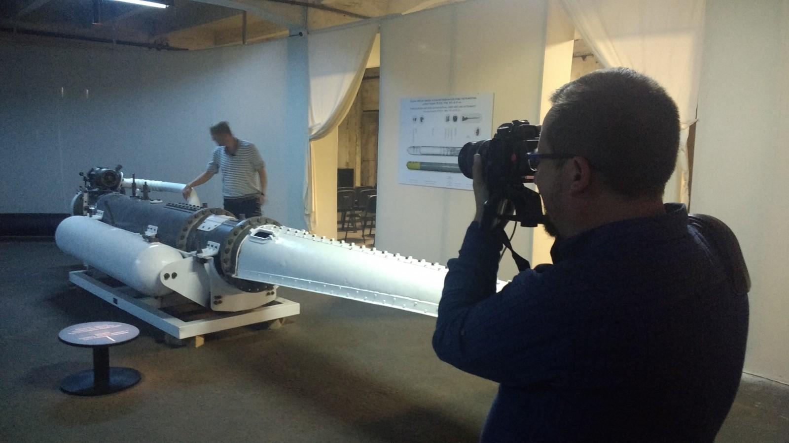 Novinari iz triju zemalja pripremali ovog vikenda priloge o izložbi torpeda