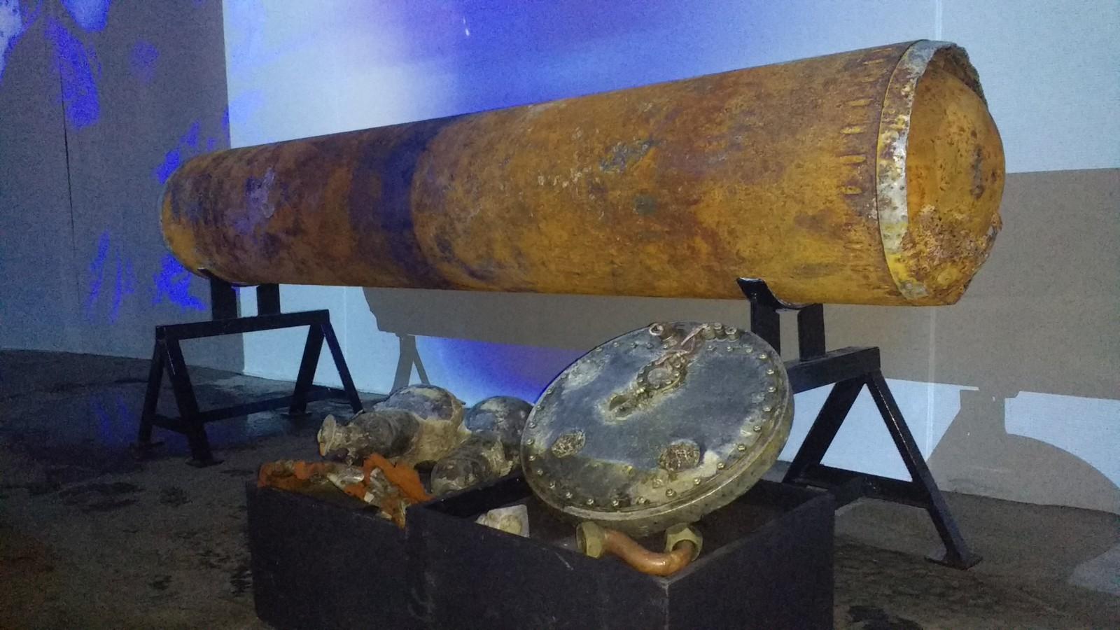 Torpedo pronađen pred Opatijom dopremljen na izložbu