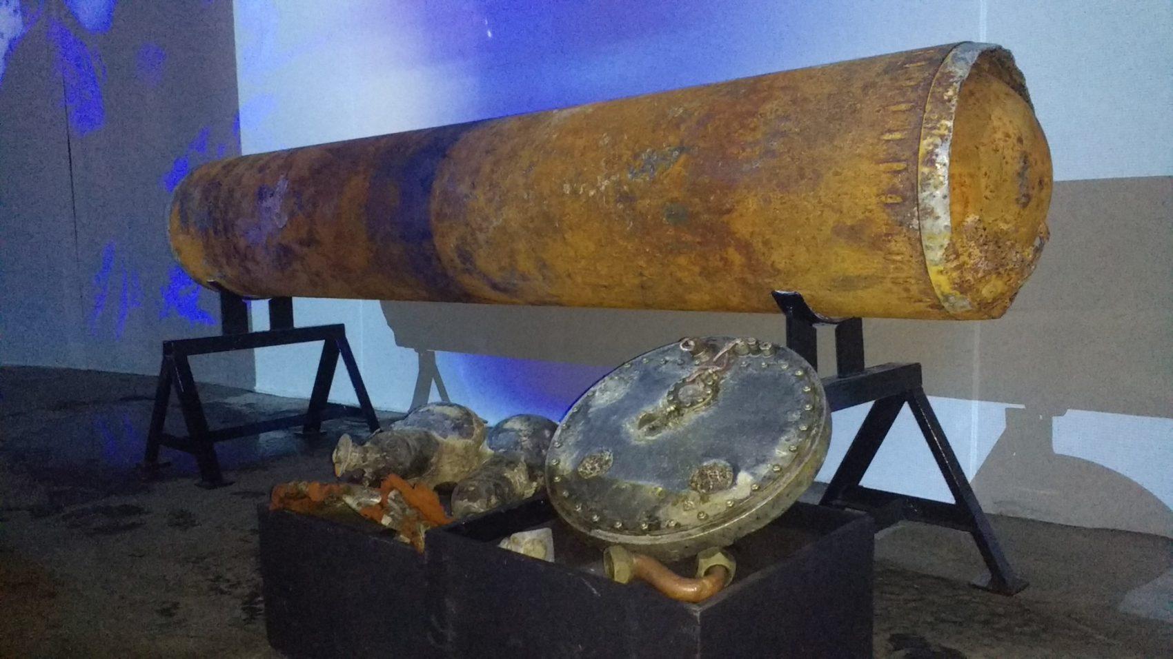 Dio torpeda pronađen pred Opatijom dopremljen na izložbu