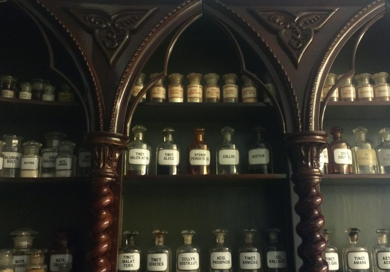The JGL Museum of Pharmacy soon to be founded