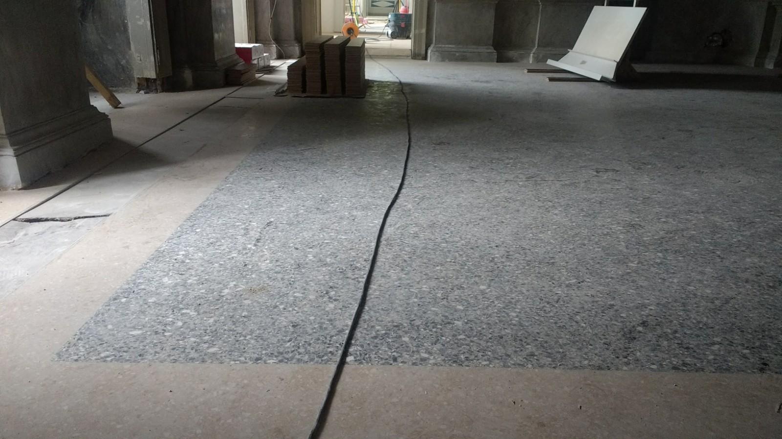Obnovljen pod Mramorne dvorane u palači Šećerane