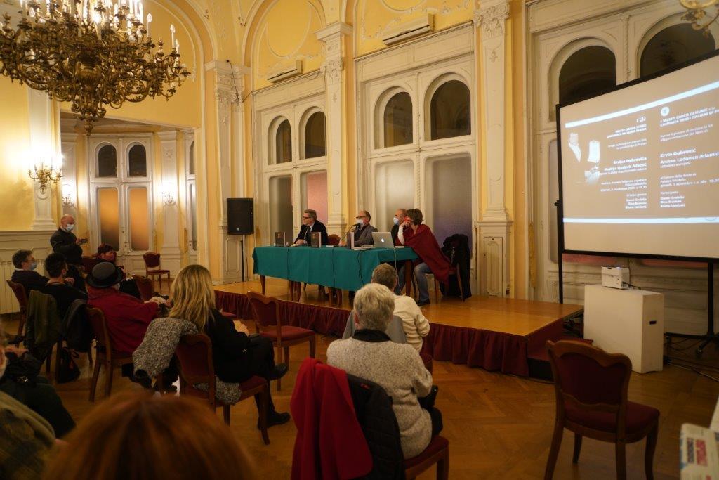 Predstavljena nova Dubrovićeva knjiga o Adamiću