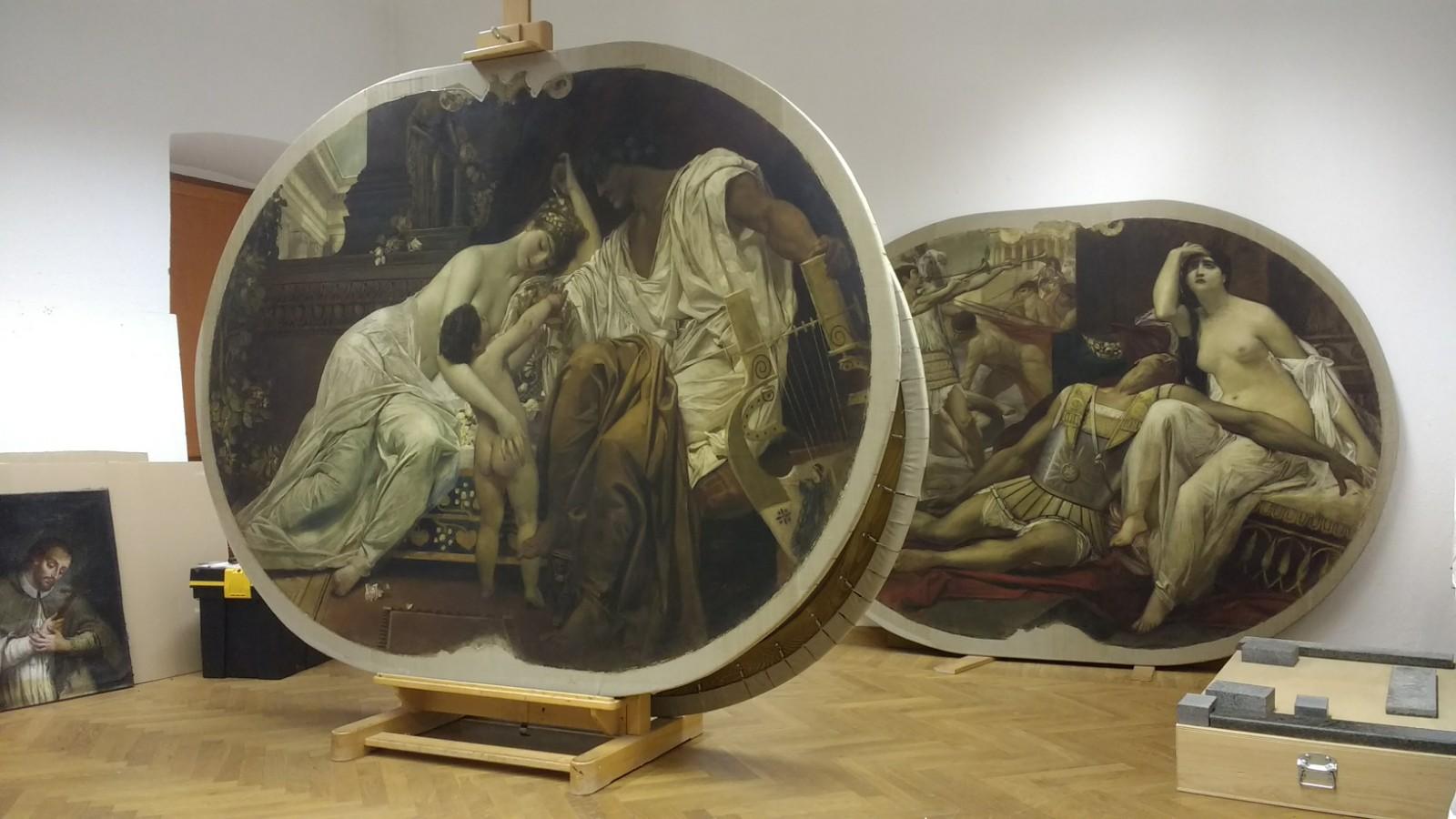 Slike braće Klimt i njihova prijatelja Matscha spremne za izložbu