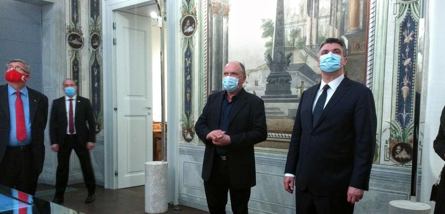 Predsjednik Milanović posjetio Palaču šećera