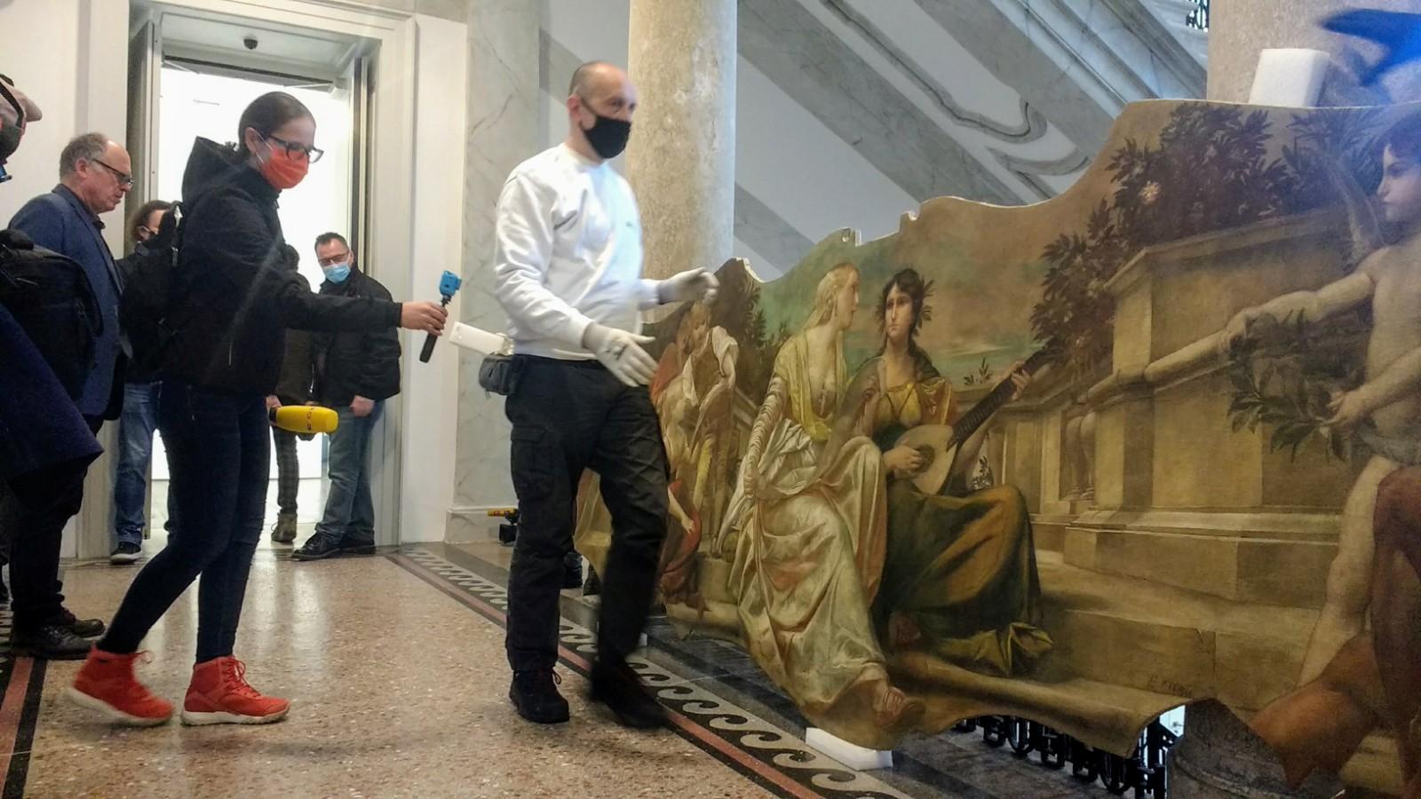 Slike za izložbu Nepoznati Klimt stigle u Muzej