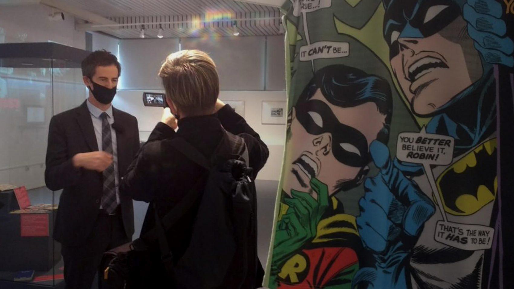 Predstavljena izložba Moda i strip