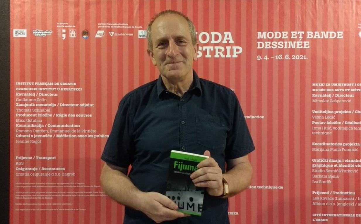 Irvin Lukežić's new book – Fijumani was presented in the City Museum