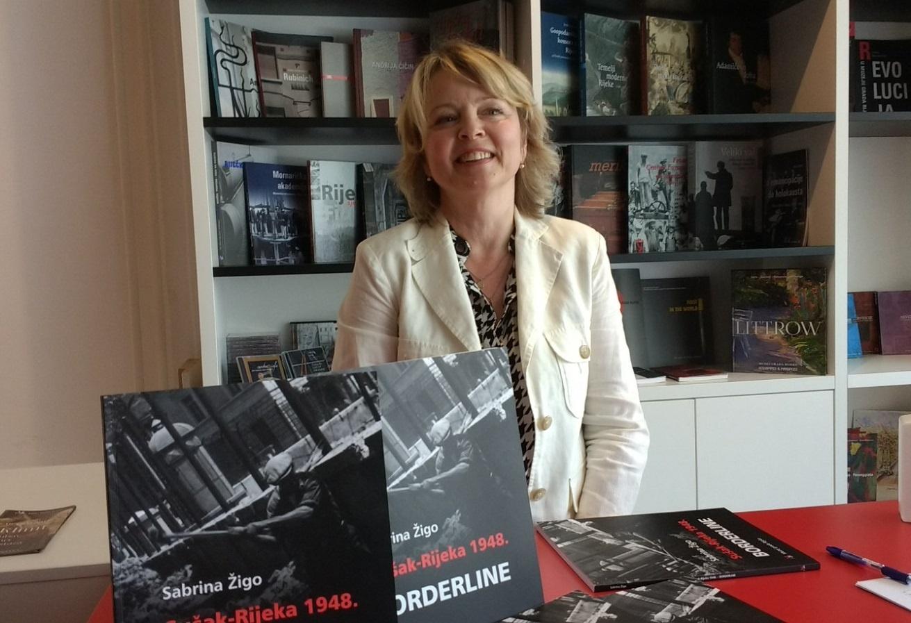Sabrina Žigo's book Sušak – Rijeka 1948. Borderline was presented.
