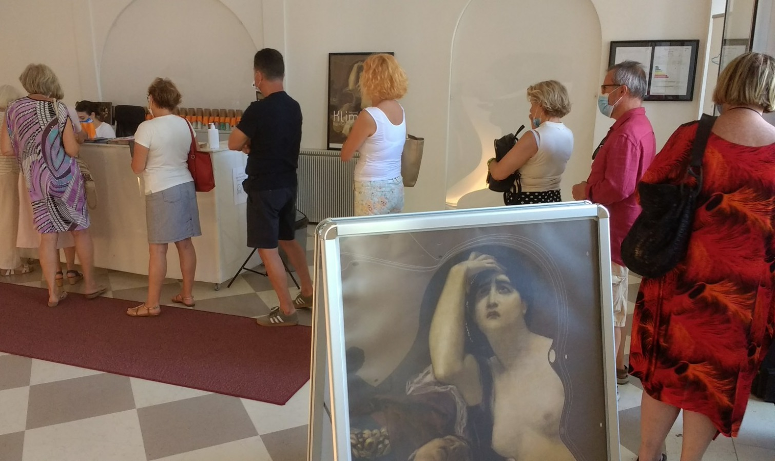 Za Klimta veliko zanimanje publike
