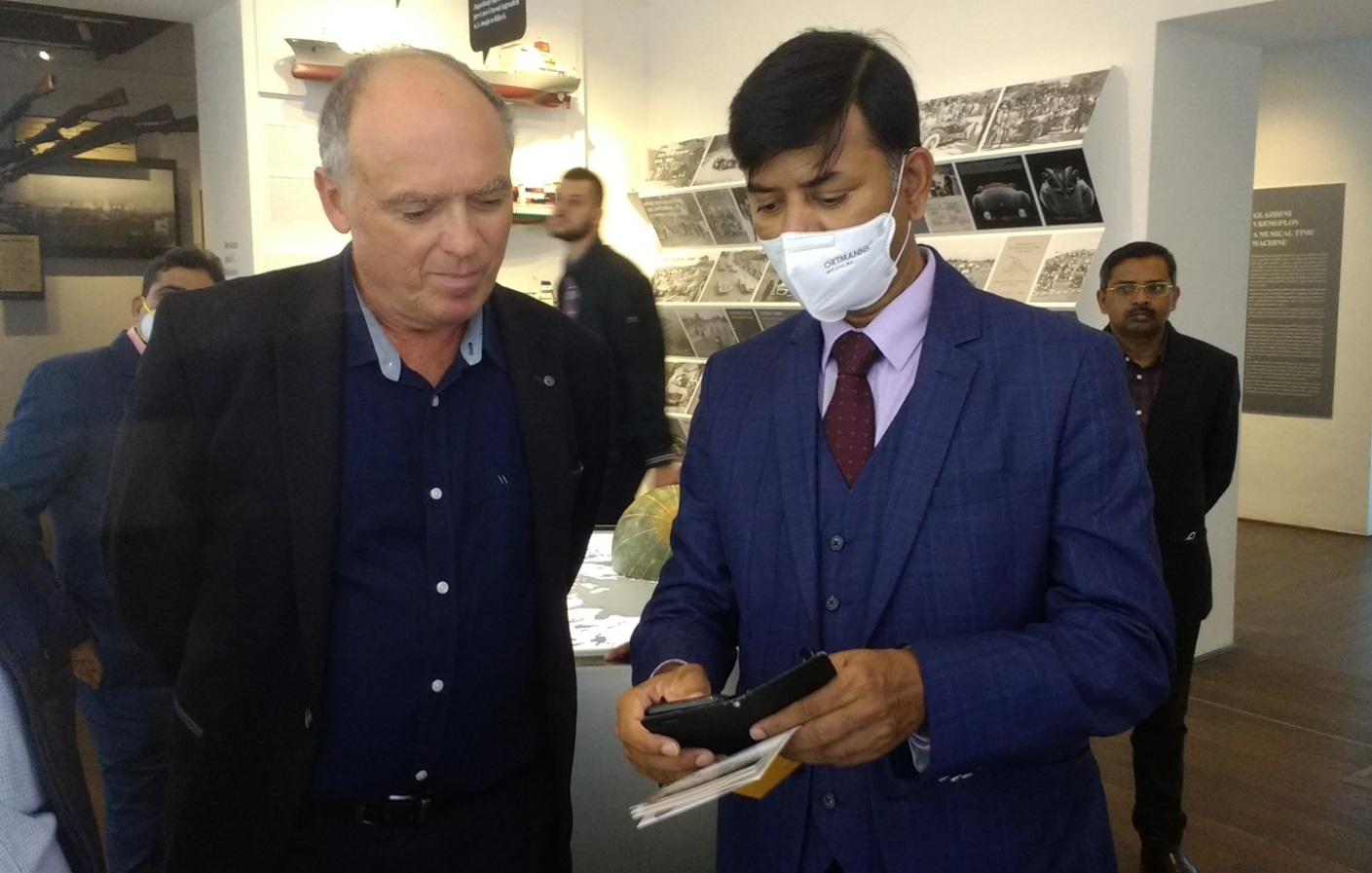 The Indian Ambassador visited the Sugar Palace